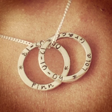 Joulberry Necklace - Childrens Names - Keepsakes