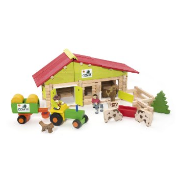 Jejeura Wooden Farm Construction Kit