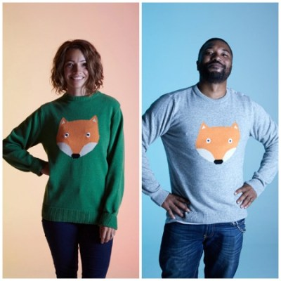 Tootsa MacGinty fox jumpers – grown-up sizes alert!