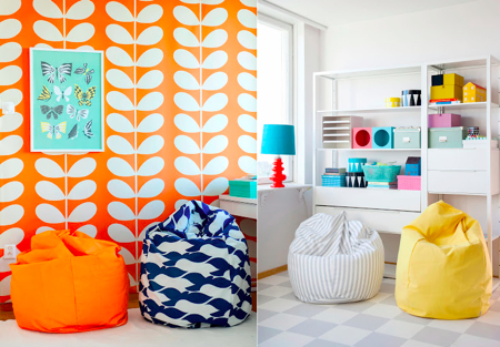 Bemz For Kids Colourful Mattress Covers And Beanbags