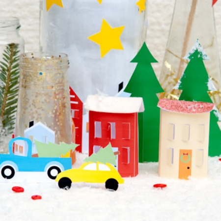 Holiday Village Printable