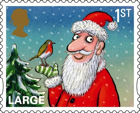 Letters to Santa from the Royal Mail