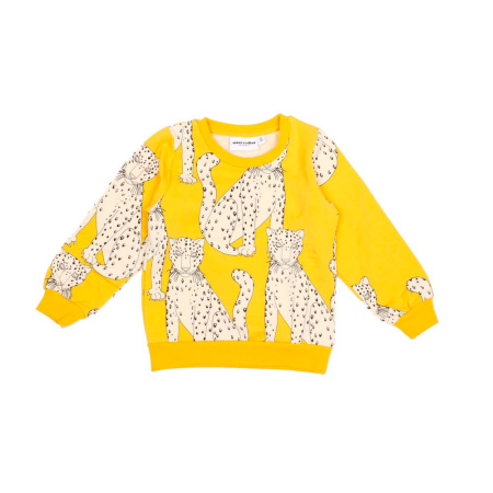 Mini Rodini snow leopard sweatshirt