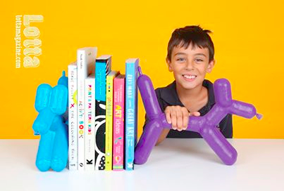 Lotta Magazine balloon animals activity