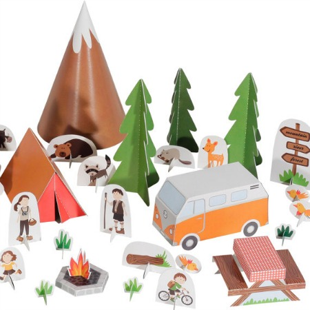 Camping Printable