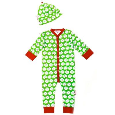 Lucky clover print nightwear at ByGraziela