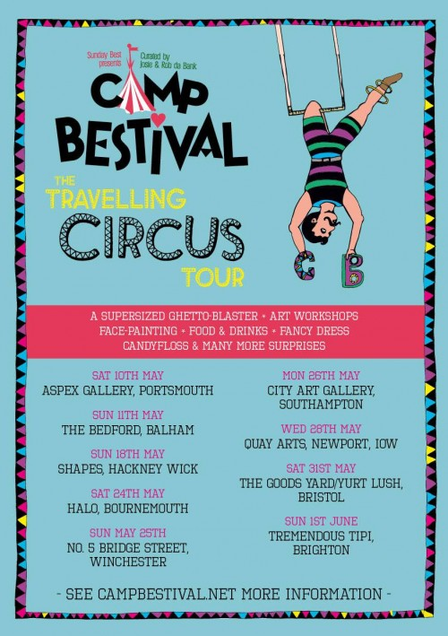 Camp Bestival Circus Tour