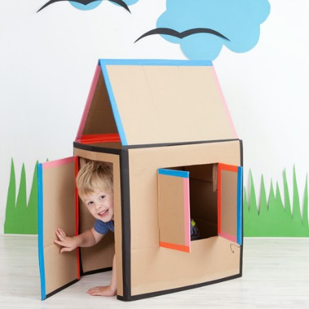 Cardboard House - How to make one