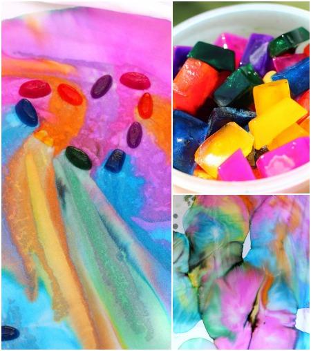 Ice Paint Art