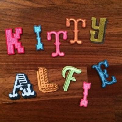 Jennie Maizels alphabet patches