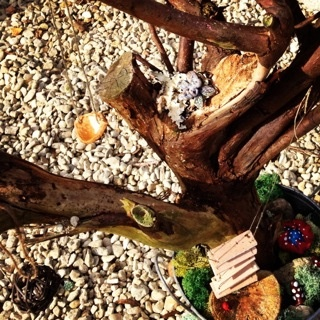 how to make a fairy garden and swing