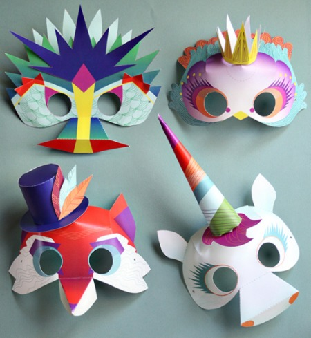 Magical Masks - Smallful - Cool Printables