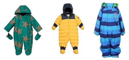 pram suits for babies - snow suits for kids
