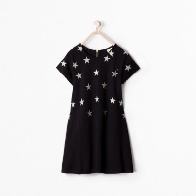 Hot on the high street: Zara star dress