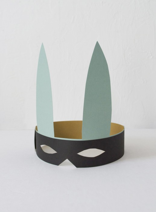 Easter bandit mask