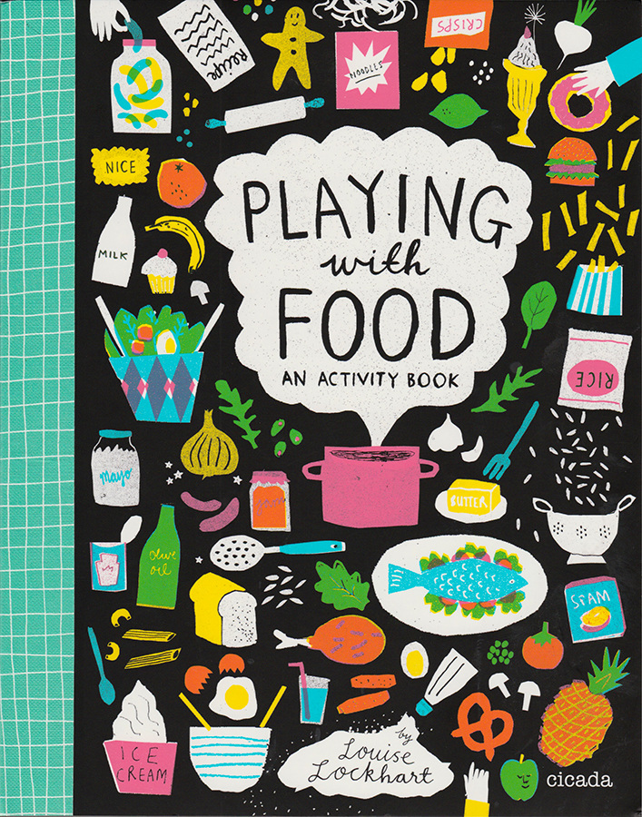 Playing with food activity book
