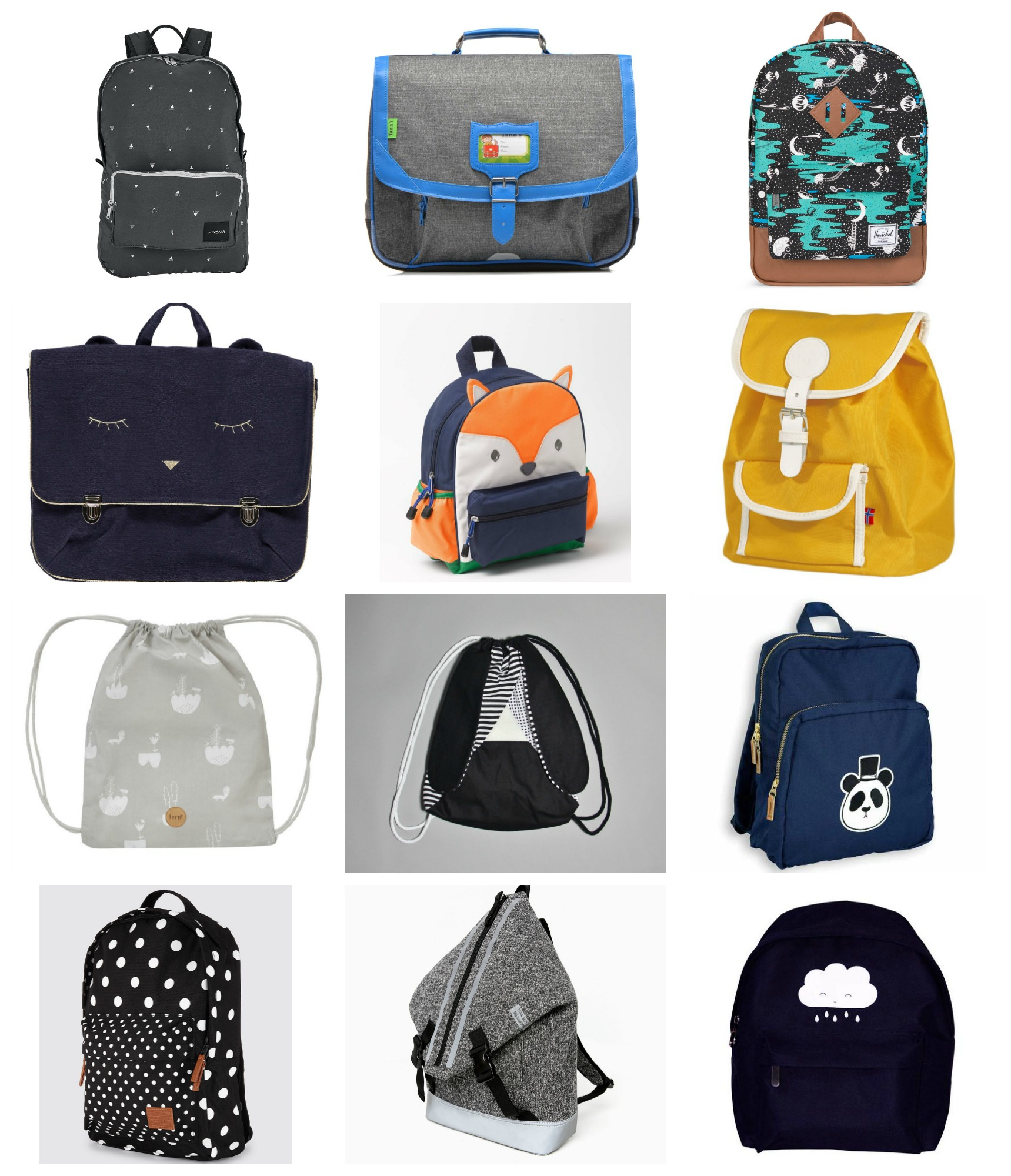 8253c00f1c3b Back to school  Cool school bags