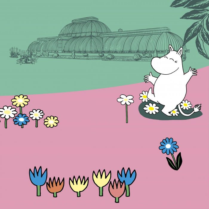 Moomins at Kew