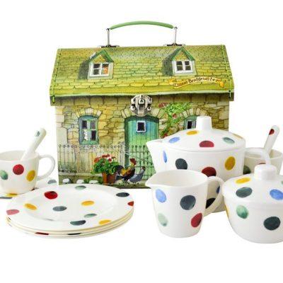 Polka Dot Dollies Tea Set