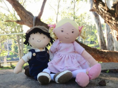 priscy and james bonikka dolls