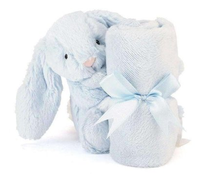 jellycat blue soother