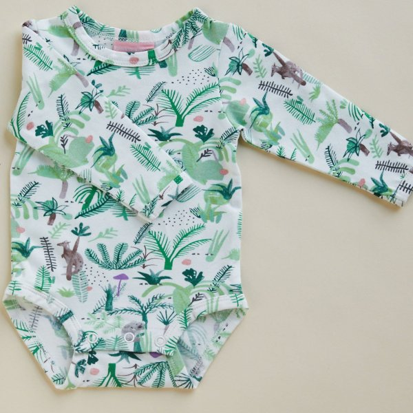 halcyon nights fern gully long sleeve romper