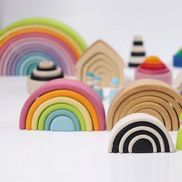 grimm's rainbows small medium and large