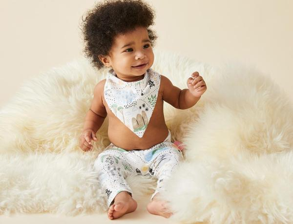 Unisex leggings for babies up to 2 years. Soft stretch cotton with fold over waist band to keep tummies warm & comfortable!