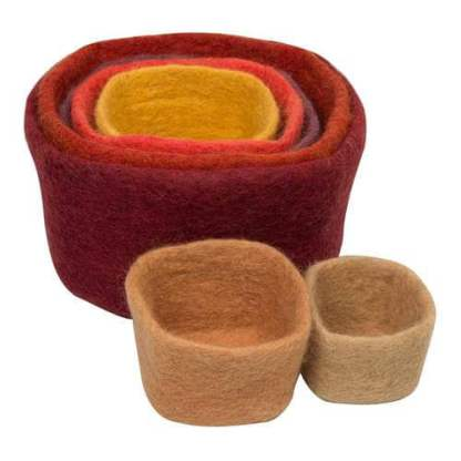 papoose-australian earth colours-stacking-cubes_