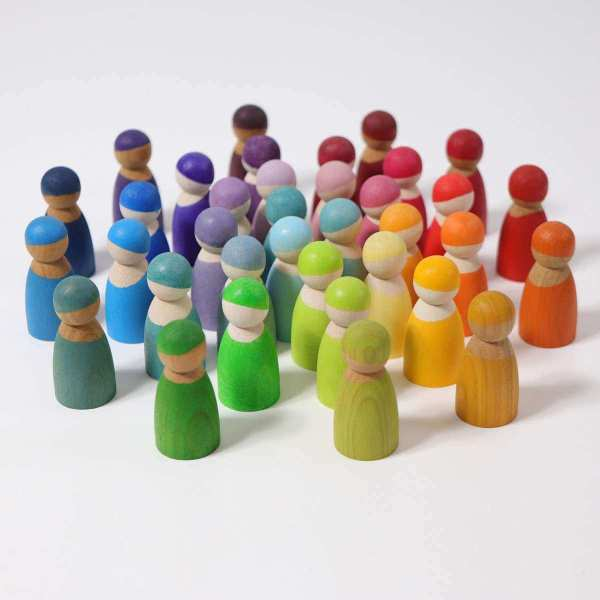 12 friends grimms pastel rainbow