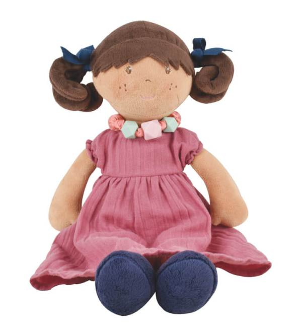 bonikka mandy brunette doll with bracelet