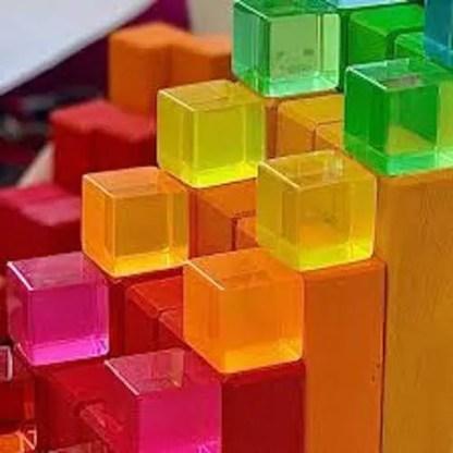 bauspiel lucite blocks