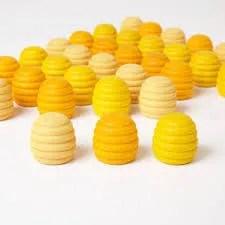 honeycomb mandala pieces