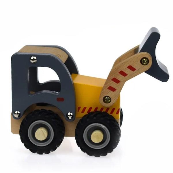 bob cat truck wooden