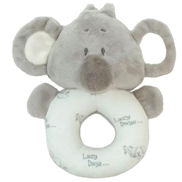 baby koala ring rattle