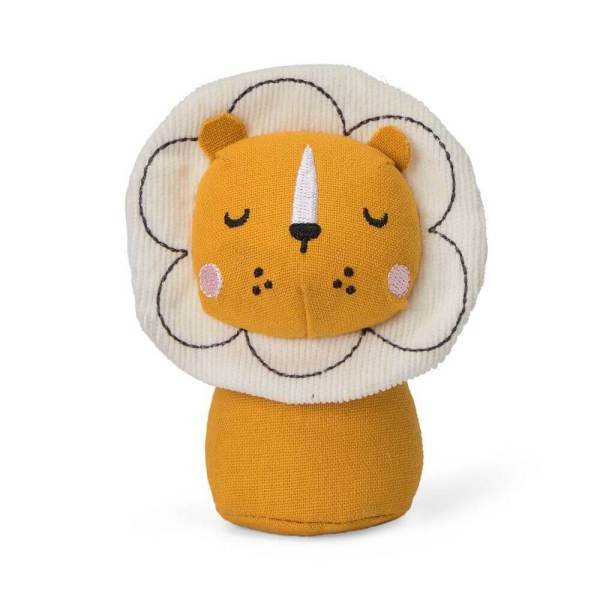 mini rattle lion picca loulou