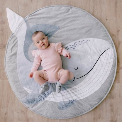 whale playmat mister fly