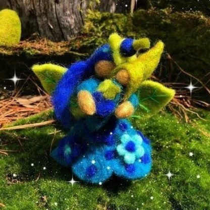 blueberry fairy mother himalayan felt copy
