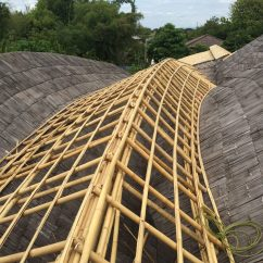 Inspiration For Living Room Wall Decor Canvas Bamboo Roof Private Residence In Lampang | Chiangmai Life ...
