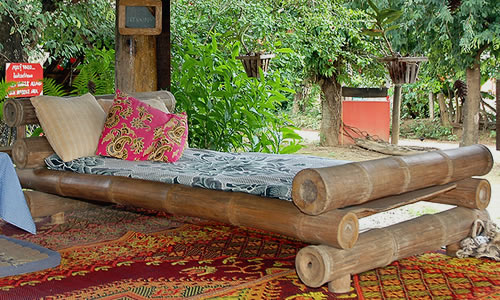 Bamboo Bedroom Furniture Luxurious Style Bamboo Bed