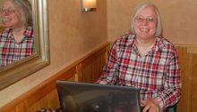 Ulrike schreibt an ihrem Reiseblog