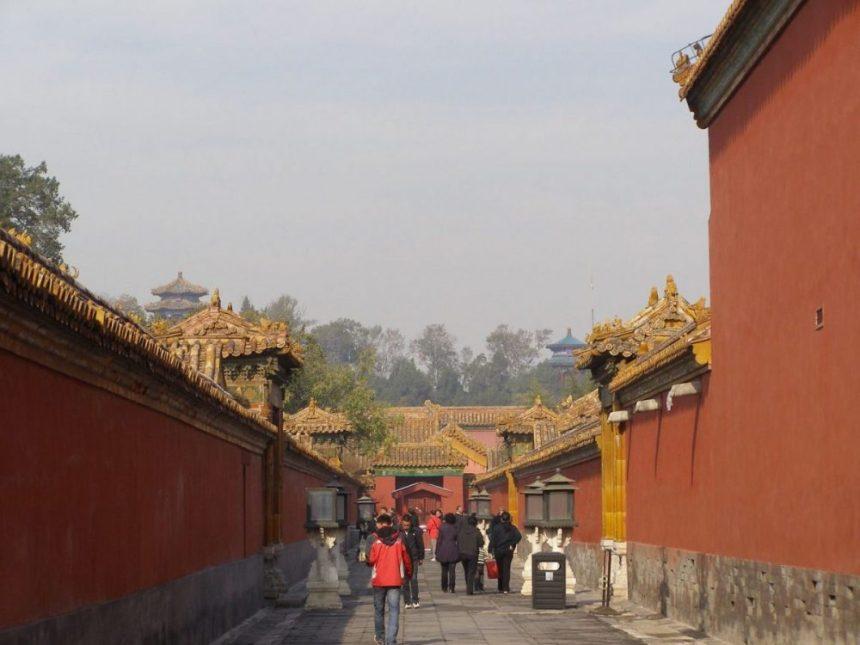 Peking Sehenswürdigkeiten: Verbotene Stadt