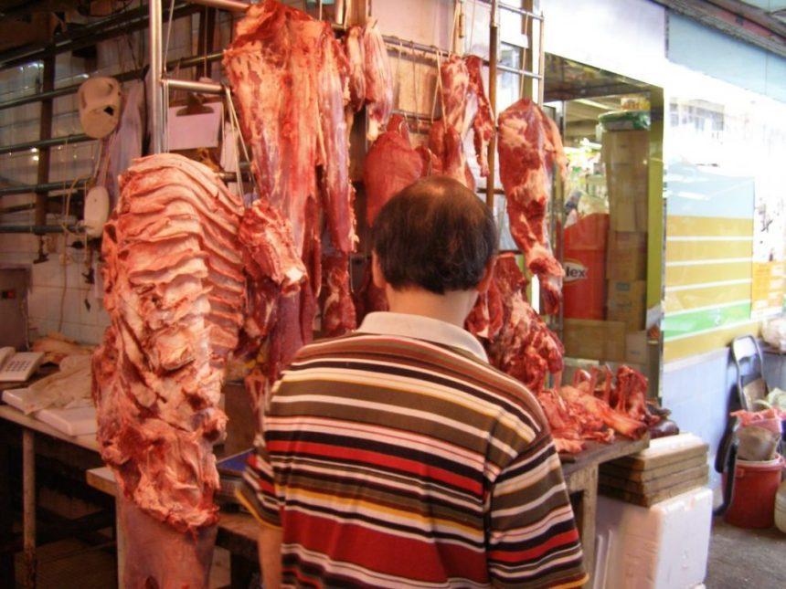 Auf dem Markt in Kowloon