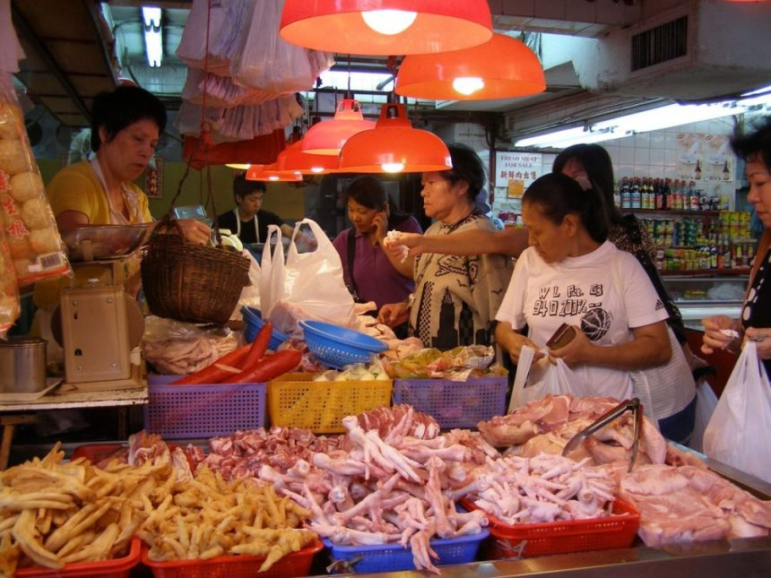 Markthalle in Sanya