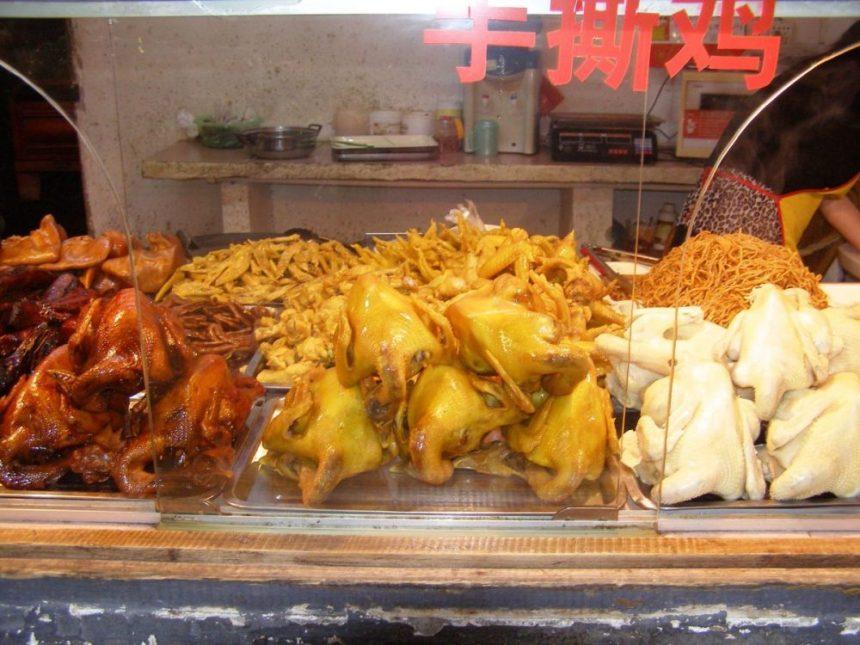 Markthalle von Yangshuo, Südchina
