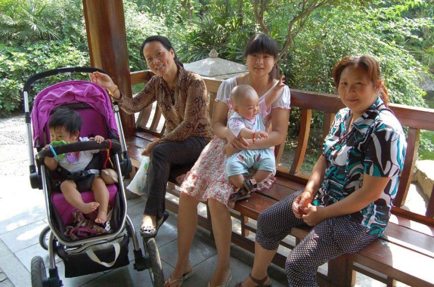 Im Park in Chengdu