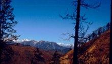 Jiuzhagou 1987 Berge