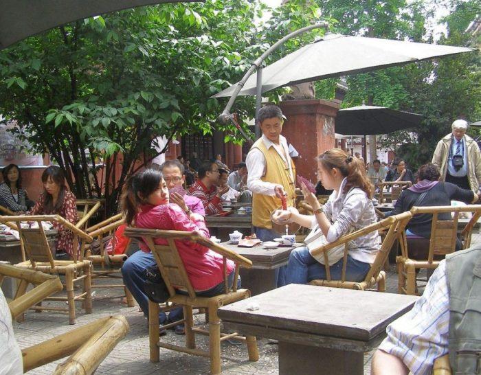 Teehaus in Chengdu