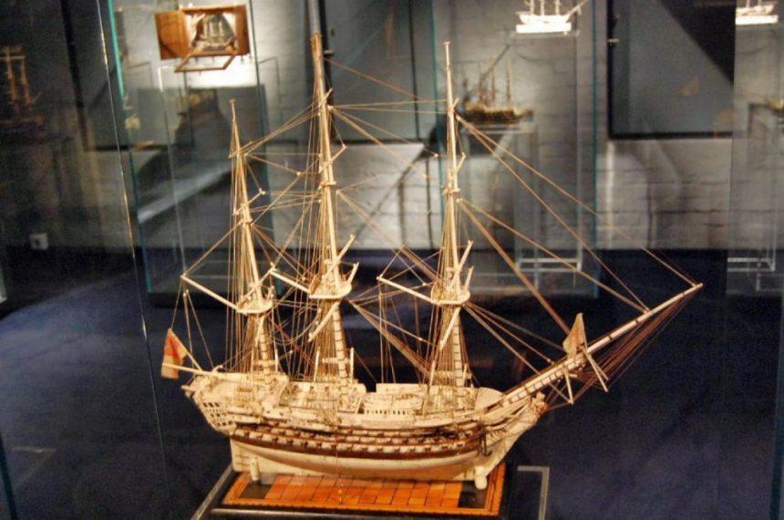 Maritimes Museum Schiffsmodell