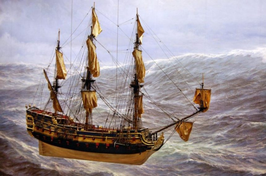 Maritimes Museum Segelschiff